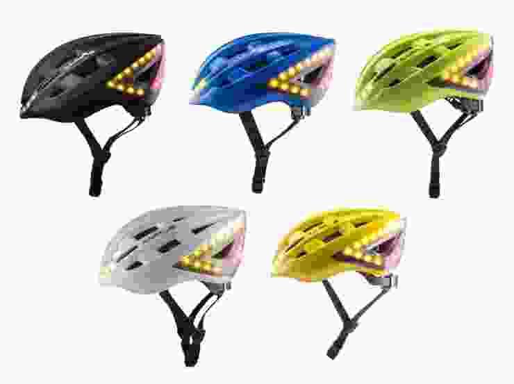 lumos turn signal helmet