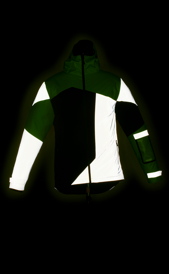 URBAN CIRCUS POP GREEN REFLECTIVE