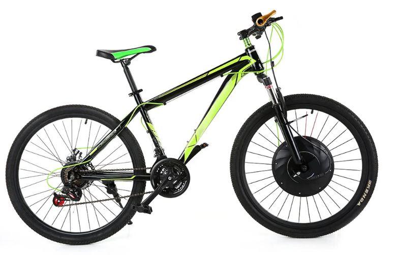 Front bike electro wheel
