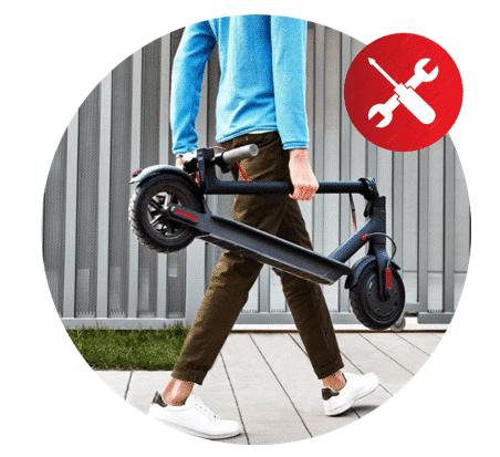 eScooter reparieren lassen