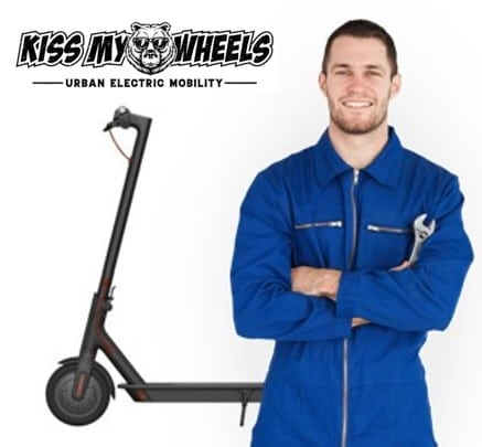 Repair service for electric scooters