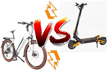 Elektroscooter oder Elektrofahrrad: Was soll man wählen?