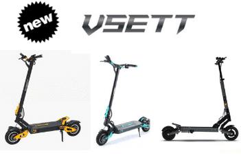 VSETT Elektro Scooter jetzt erhältlich bei KissMyWheels